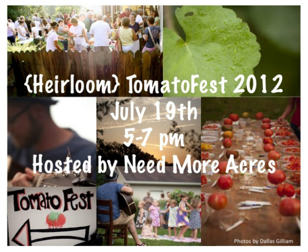 Heirloom Tomato Fest