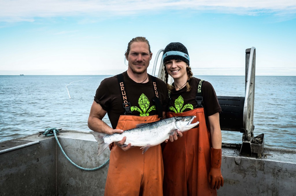 Jason & Mary Beth McKinley of Caught Wild Salmon